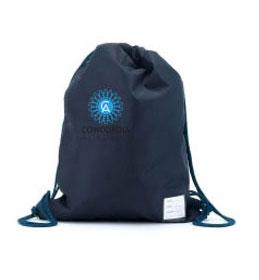 Concordia Academy Navy P.E bag