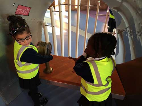 Concordia children had a great time at the Discover Story Centre on Wednesday!