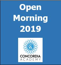 Concordia Academy Open Morning 2019