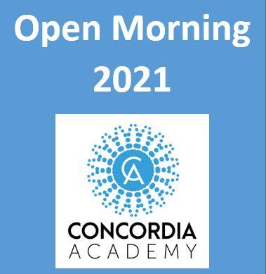 Concordia Academy Open Morning 2021